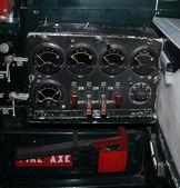 старое оборудование самолета — Стоковое фото