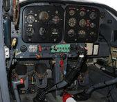 Flygplan cockpit — Stockfoto