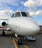 Jet airplane — Stock Photo