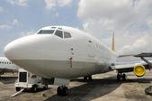 Staré tryskové letadlo — Stock fotografie