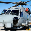Navy helicopter - Stock Photo