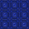 Blue ceramic tile — Stock Photo