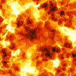 Fiery background — Stock Photo
