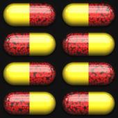 Medicine capsules — Stock Photo