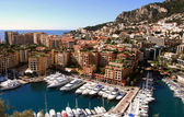 Monte Carlo on the French Riviera — Stock Photo