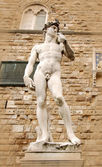 Statue in Florence Italy — Stock Photo
