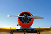 Old Propeller Airplane — Stock Photo