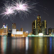 Stock Photo: Detroit Michigan