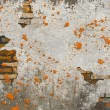 Old damaged wall — Stock Photo