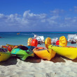 Stock Photo: Beach sports equipment