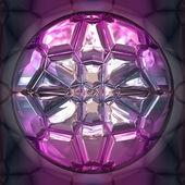Closeup round diamond — Stock Photo