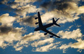 Flying tanker — Stockfoto