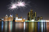 Detroit Michigan — Stock Photo