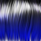 Blue wig — Stock Photo