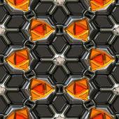 Orange gem stones — Stock Photo