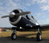 Gamla propeller flygplan — Stockfoto