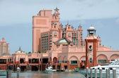 Luxury beachfront hotel — Stock Photo