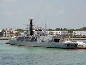 Navy ship — Stock Photo