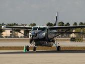 Propeller airplane — Foto de Stock
