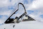 Jet cockpit — Stock Photo