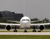 реактивный самолет — Стоковое фото
