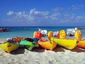 Beach sports equipment — Stock Photo