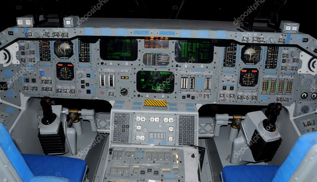 space shuttle cockpit takeoff - photo #6