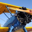 Old biplane — Stock Photo