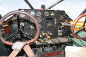 Cabine de avião — Foto Stock