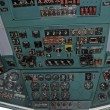 Airplane cockpit — Foto de Stock