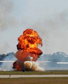 Large explosion — Stock Photo