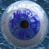 Eyeball closeup — Stockfoto