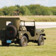 Stock Photo: Classic Wartime Jeep