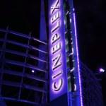 Movie theaters — Stock Photo
