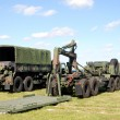Stock Photo: Military trucks
