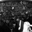Airplane cockpit — Stock Photo #11852455