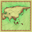 Map of Asia — Stock Photo #11852634