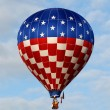 Giant hot air balloon — Stock Photo