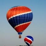 Hot air ballons — Stock Photo