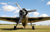 World War II Era Airplane — Stock Photo