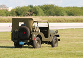 Classic Wartime Jeep — Stock Photo