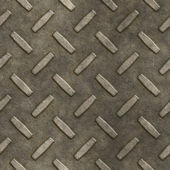 Dirty metal grate — Stock Photo