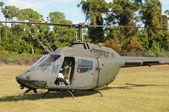 Military helicopter — Zdjęcie stockowe