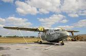 Abandoned seaplane — Stock Photo