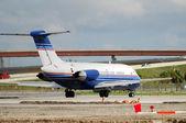 Dc-9-jet-flugzeug — Stockfoto