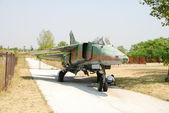 Old Soviet Jetfighter — Stock Photo