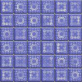 Blue tiles — Stock Photo