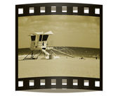 Vintage Vacation Slide — Stock Photo