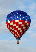 Giant hot air balloon — Stockfoto