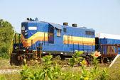 Old train engine — Stok fotoğraf